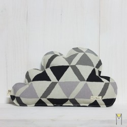Cloud Pillow Triangles