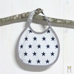 Babero Mini Blue stars