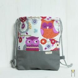 Bolsa Purple Owls