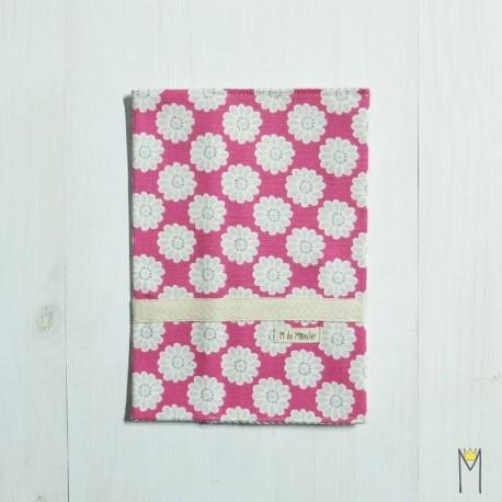 Portadocumentos Pink Daisy