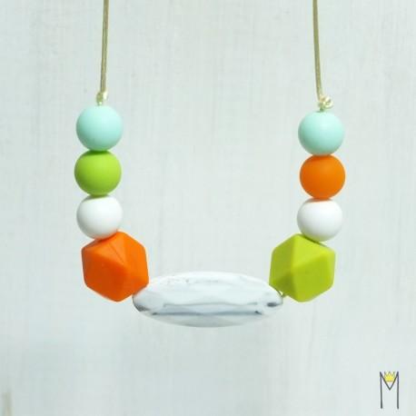 Collar de Lactancia Marble&Orange