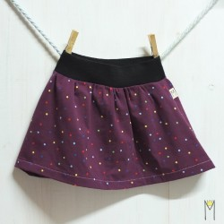Falda Purple Confeti
