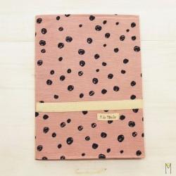 Portadocumentos Pink Drops