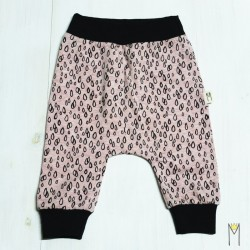 Pantalones Gotas Rosa