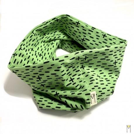 Cuello palitos verde