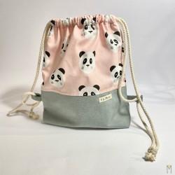 Bolsa Pandas Rosa