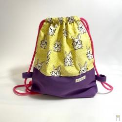Bolsa Conejos con gafas